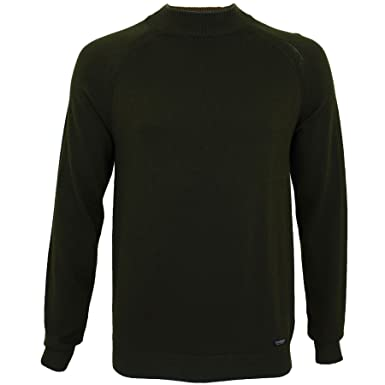 f151af6884 Threadbare Mens Cotton Turtle Neck Casual Pullover Sweater Jumper   Amazon.co.uk  Clothing