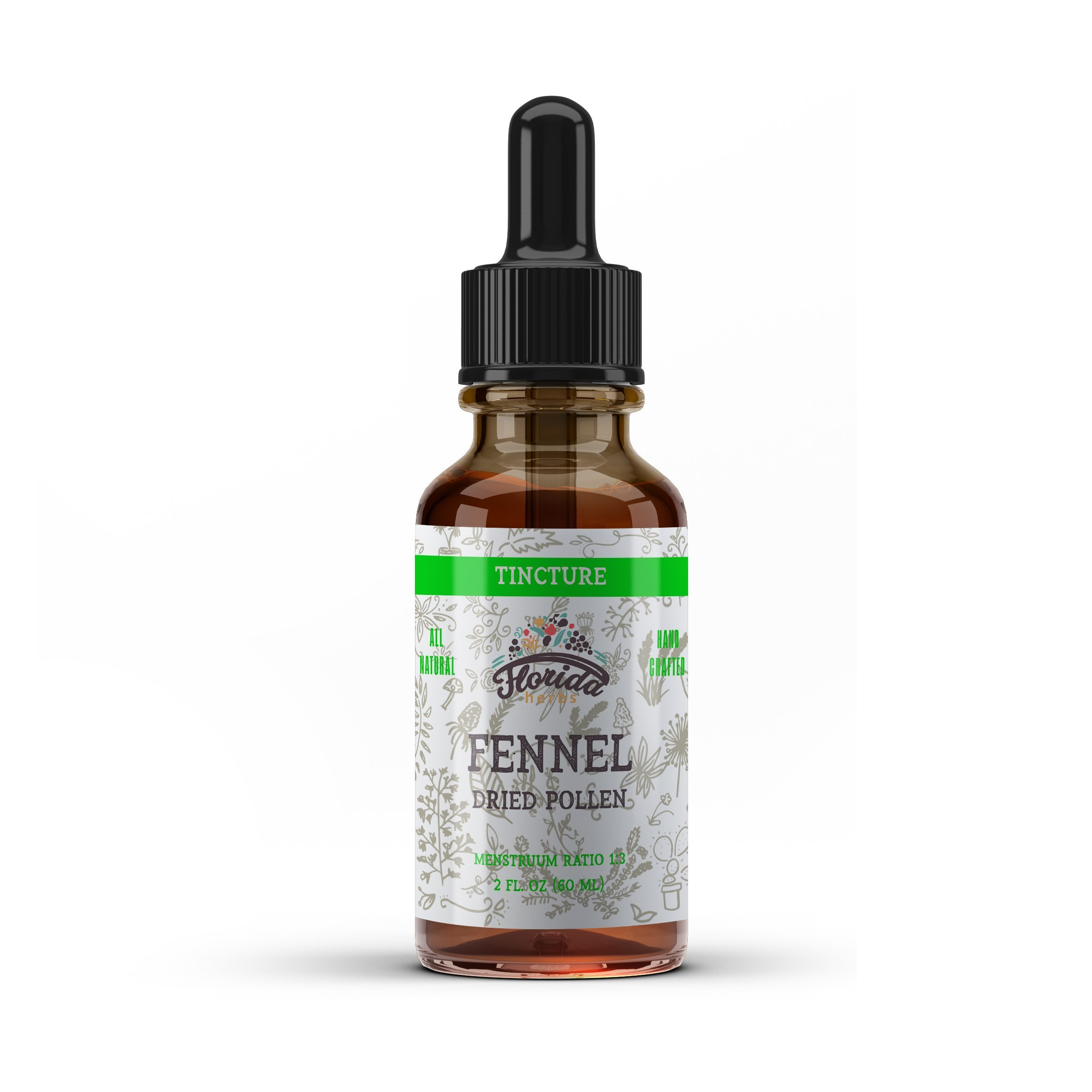 Fennel Seed Tincture, Organic Fennel Extract (Foeniculum vulgare) Dried Seed, Fennel Vitamin