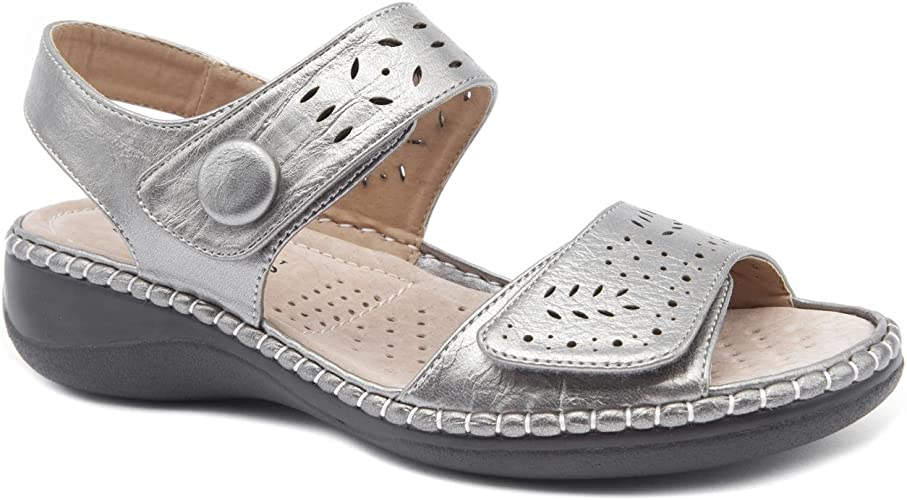Caravelle Ladies Wide Fit Padstow