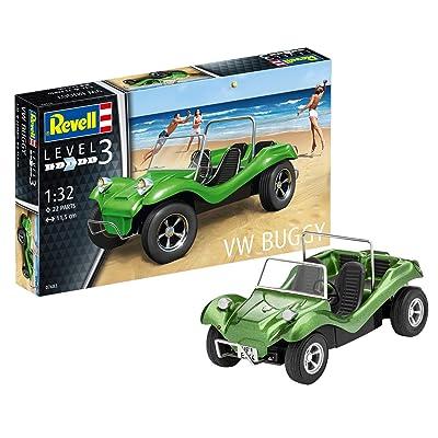 Revell of Germany VW Buggy Hobby Model Kit: Toys & Games