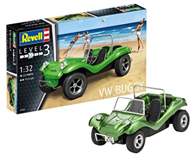 Amazon Com Revell Of Germany Vw Buggy Hobby Model Kit Toys Games