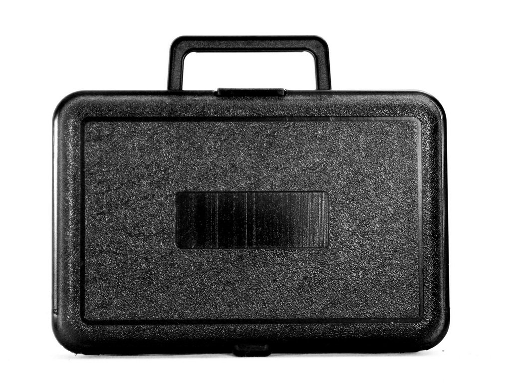 Interior Cases By Source B962F Blow Molded Foam Filled Carry Case 9.5 x 6 x 2.625