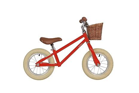 Bobbin Bicicleta sin Pedales para niños Moonbug (Roja)