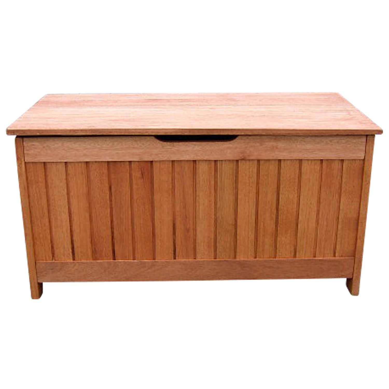 kissenbox mit deckel aus eukalyptus holz 88x45x45 fsc zertifiziert jetzt kaufen. Black Bedroom Furniture Sets. Home Design Ideas