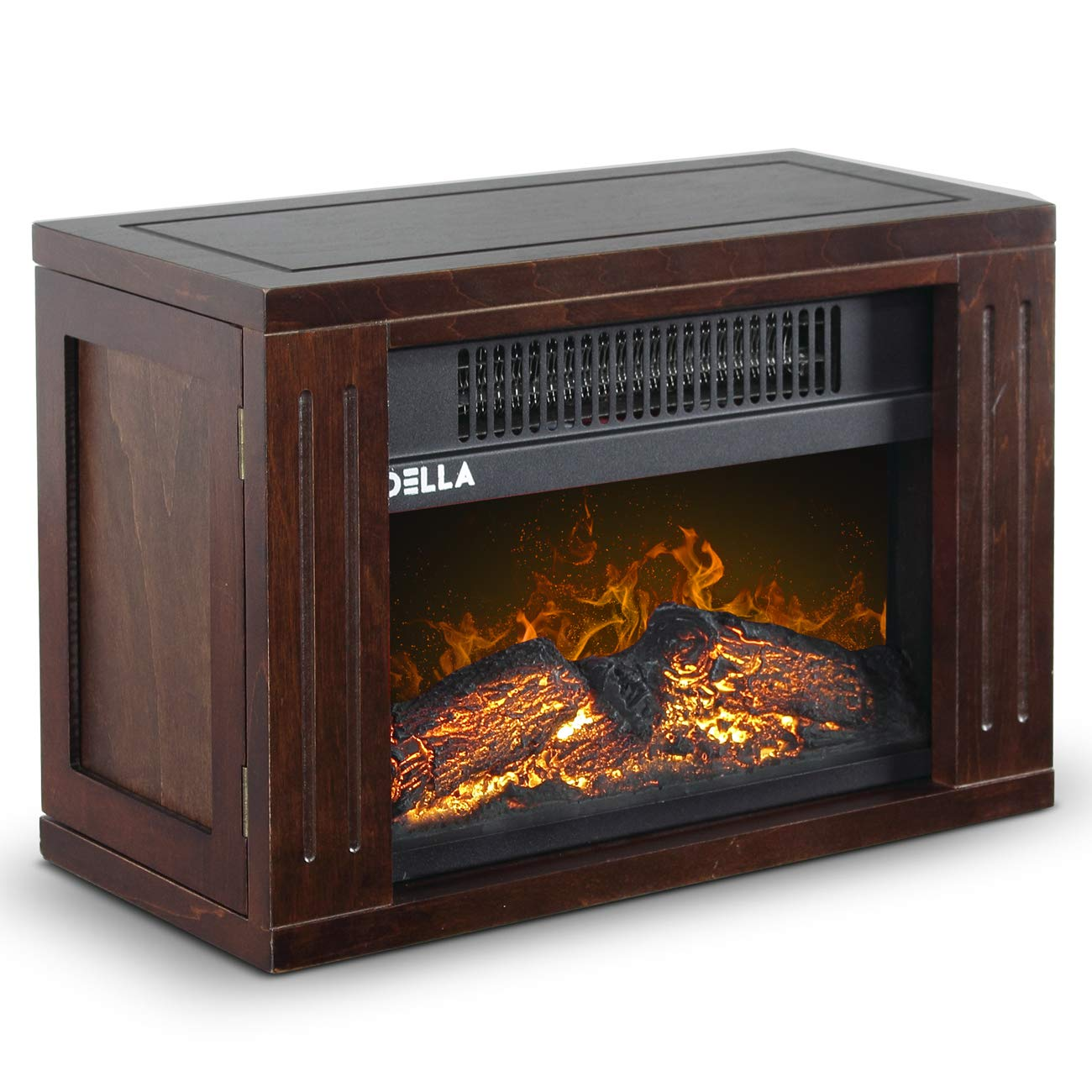Amazon Com Della 1200 Watt Hearth Portable Electric Fireplace Log
