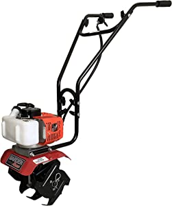 Garden Trax Mini Tiller Cultivator Powerful 33cc 2-Cycle Engine