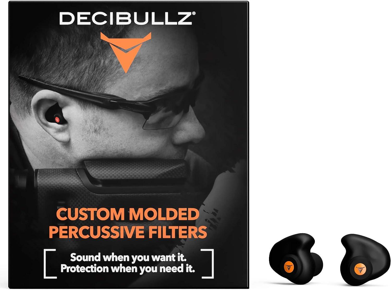 Decibullz - Custom Molded Percussive Filters, Custom Molded Hearing Protection : Sports & Outdoors