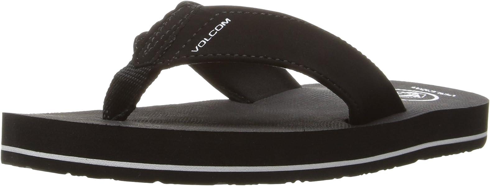 3bd595c73 Volcom Boys  Victor Big Youth FLIP Flop Sandal