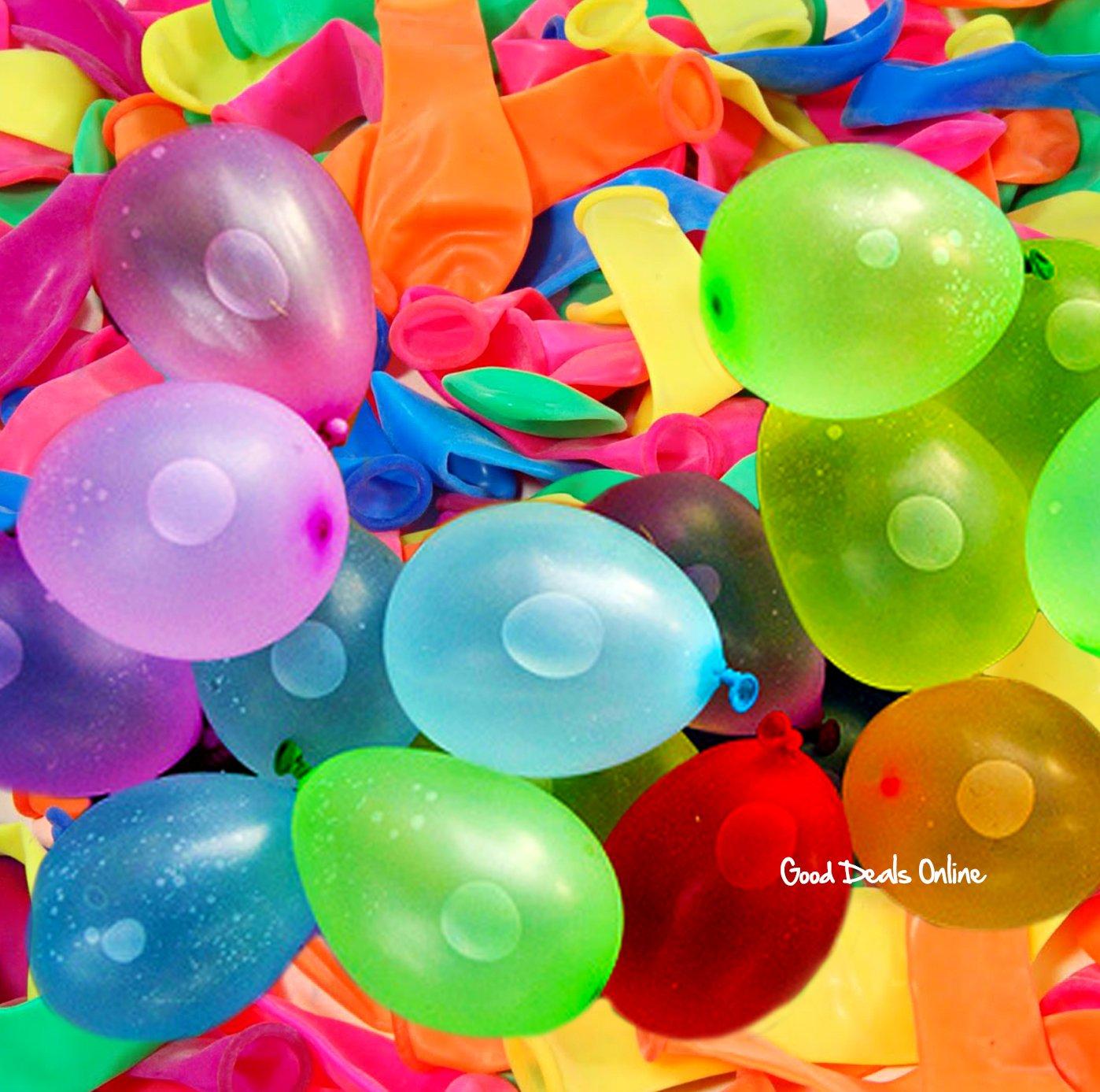Kalaokei 500Pcs Water Bombs Balloons Outdoor Party Garden Summer Beach DIY Fun Balloon Game Toys