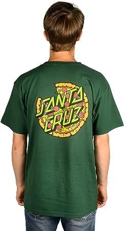 Santa Cruz TMNT Pizza Dot Camisas para hombre