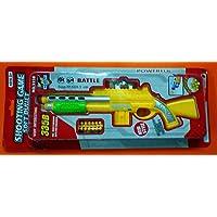 Jay Antiques Air Gun Shooting Game Soft Bullet Gun 335B (Multicolour) + Free Water Bomb Packing Inside