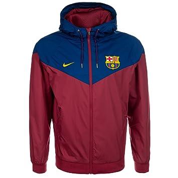 Nike FC Barcelona Windrunner Kapuzenjacke Herren: