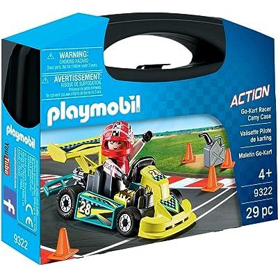 PLAYMOBIL Go-Kart Racer Carry Case Building Set: Toys & Games