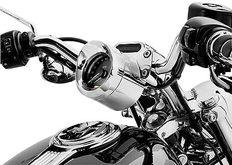 Kuryakyn Speedometer/Tachometer Visor (Each) - Harley Davidson Road Glides  / Sportster Customs 2004-2010 / Honda VTX1800C 2002-2006, 250 Rebel, Shadow