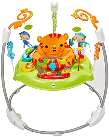 c232e867c5e2 Amazon.com   Fisher-Price Roarin  Rainforest Jumperoo   Baby
