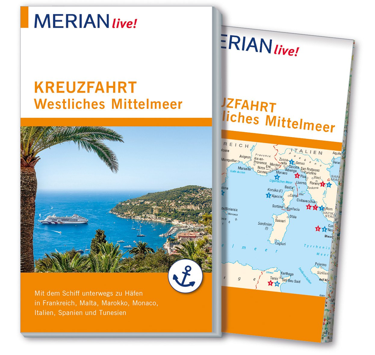 Merian Live Reisefuhrer Kreuzfahrt Westliches Mittelmeer Mit