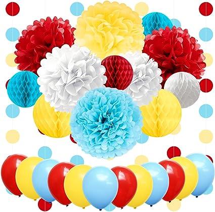 Amazon.com: NICROLANDEE suministros para fiesta de carnaval ...