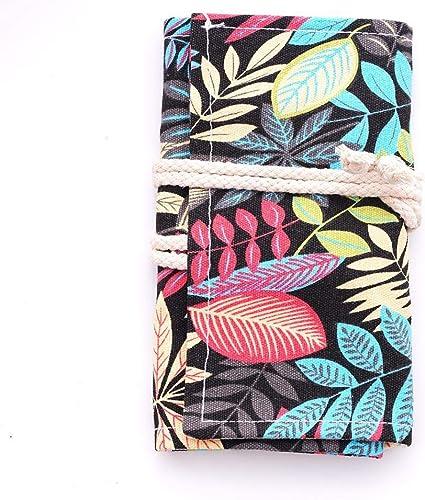 Holo Cute - Estuche para cartas (tamaño grande, lona), diseño creativo, color Selva de lluvia (G) 48.: Amazon.es: Oficina y papelería