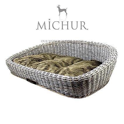 MICHUR SYLT GREY, Cama del perro, cama del gato, cesta del gato,