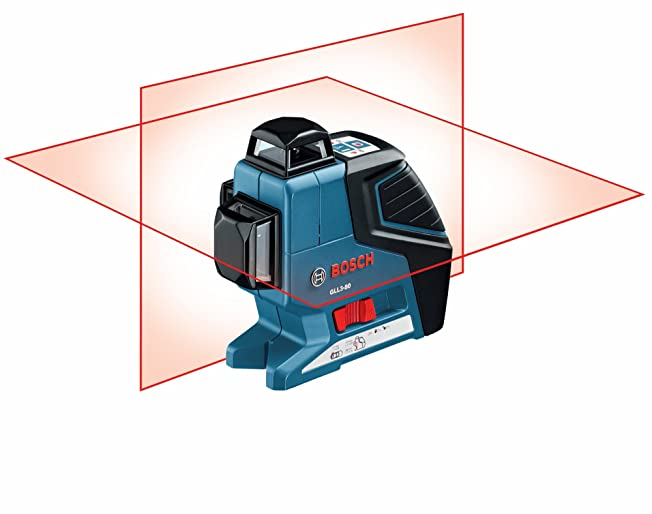 Bosch GLL 3 Plane Leveling Alignment Laser with BM1 Positioning Device