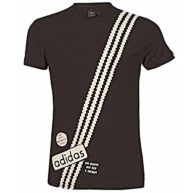 shirt Gestreepte Heren T In Zwart Originals 3xl Adidas kXO8Pnw0