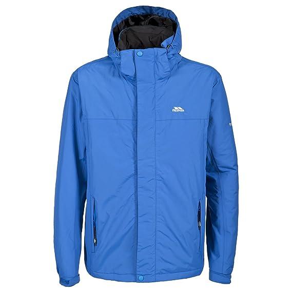 43d27df43 Trespass Tresspass Mens Donelly Waterproof Padded Jacket (XXS) (Electric  Blue)