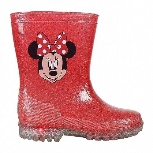 88b4a9aee Botas de Agua con Luces de Minnie Mouse 29: Amazon.es: Zapatos y  complementos