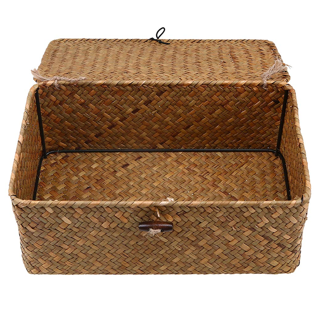 rattan basket small from storage box.htm lidded storage bins  lidded storage bins