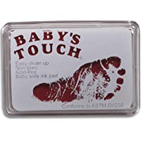 Baby's Touch Baby Safe Reusable Hand & Foot Print Ink Pads - Pink