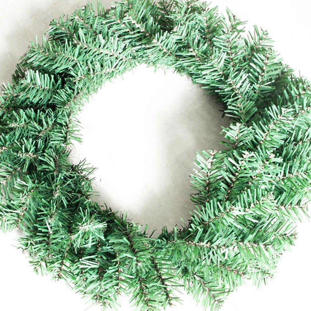 Molie Couronne de Noël Intérieur / Extérieur Couronne DIY Décoration pour Noël
