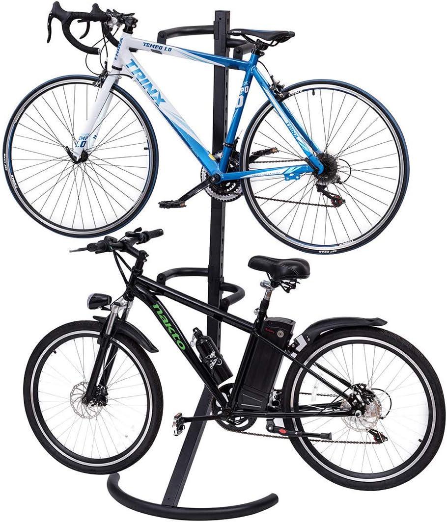 TG888 Soporte de Almacenamiento para Dos Bicicletas con Gravedad ...
