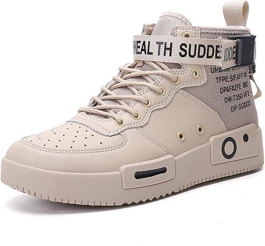 JOYMIN Men's Fashion Sneakers High Top Athletic Casual Shoes Sport Walking Shoe Skateboard for Men