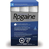 Rogaine Men's Hair Loss & Thinning Treatment for Hair Regrowth, 5% Minoxidil Foam Extra Strength, 3 Month Treatment