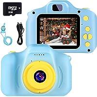 Camara Fotos Infantil Juguete para Niños Cámara Digital para Niños pequeños 2 Inch HD Pantalla with Calidad 32GB TF…