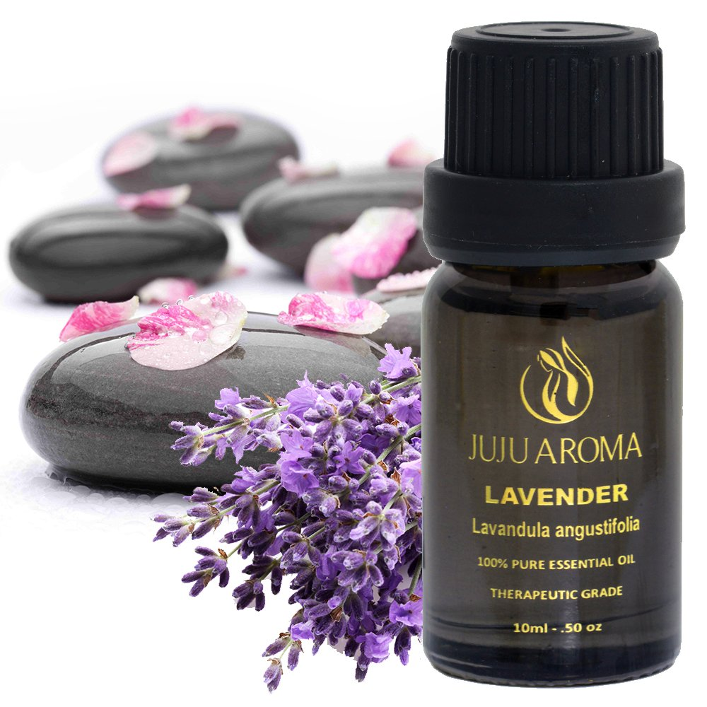 Lavender Essential Oil - 100% Pure, Natural and Therapeutic Grade - 10ml – By JuJu Aroma