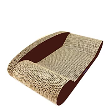 Pet Elf Tabla de rascar para Gatos de Papel Corrugado Grande, Tabla para rascar Gatos