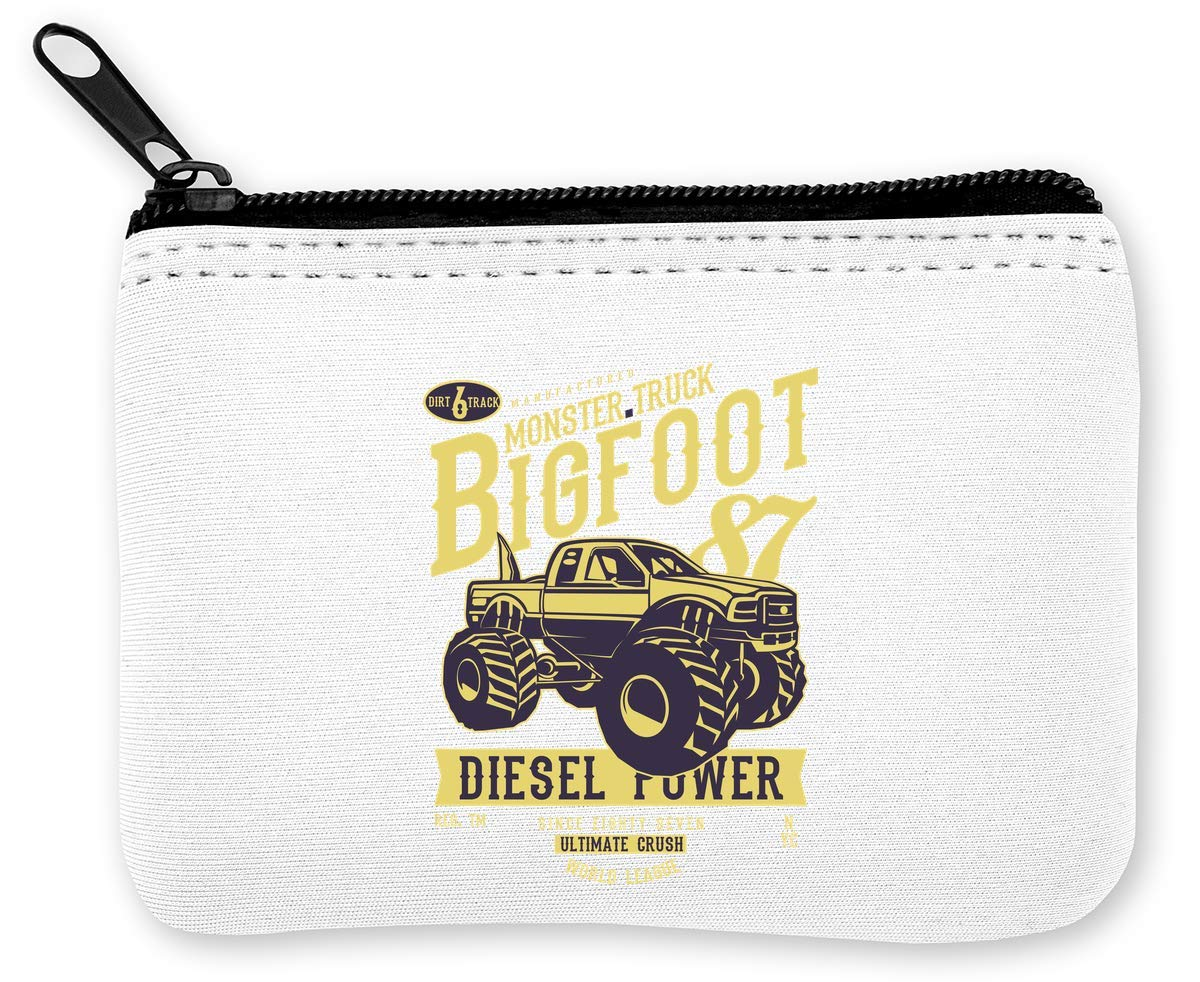 Monster Truck Bogfoot Diesel Power Monedero de la Cremallera ...