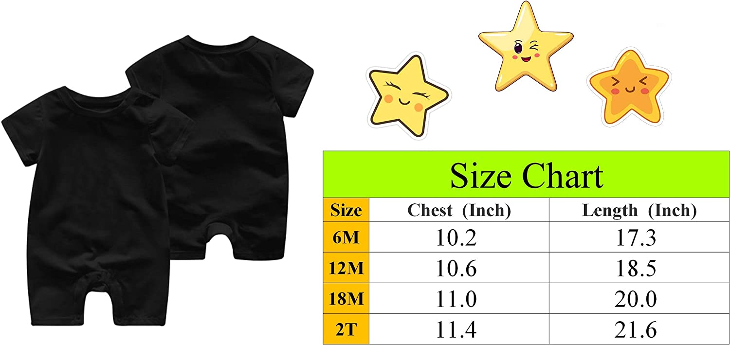 Yuanmeiju Aint No Papa Like The One I Got Baby Onesie Short Sleeve Cute Toddler Barboteuse