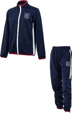 Equipe de FRANCE de football Survêtement FFF Enfant 2 étoiles Collection Officielle Taille Enfant garçon