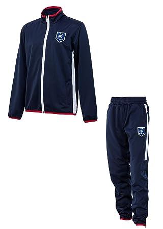 1f6508d2eed8fe Equipe de FRANCE de football Survêtement fit FFF - Collection Officielle  Taille Enfant garçon 4 Ans