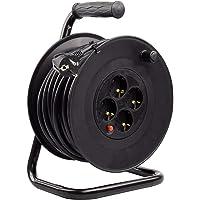 LEDKIA LIGHTING Carrete Alargador de Cable 25m Liso