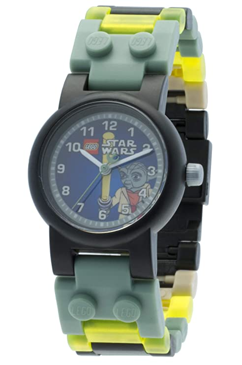 Amazon.com: Lego Kids Star Wars Yoda Wrist Watch w/ Minifigure (Green): Toys & Games