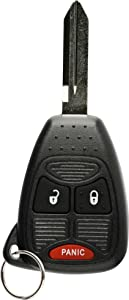 Discount Keyless Replacement Uncut Car Keyless Entry Remote Fob Key Compatible with OHT692713AA, OHT692427AA, KOBDT04A