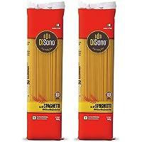 Disano Spaghetti Durum Wheat Pasta, Pack of 2 (2 x 500 GMS)