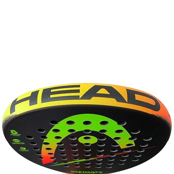 Head Pala de Padel Ultimate Power 2 Yellow/Orange: Amazon.es ...