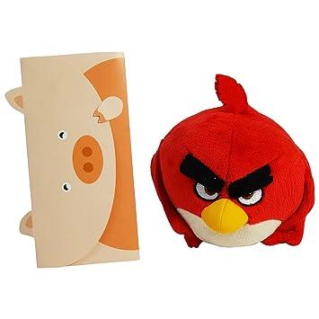 Angry Birds Peluche Red Para las Colecciones Idea de Regalo