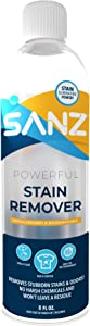 SANZ Sport Powerful Laundry Stain Remover, Removes Stubborn Stains & Odors, Won't Leave Residue, Hypoallergenic, Biodegradable, Zero Harsh Ingredients, Safe for All Ages.