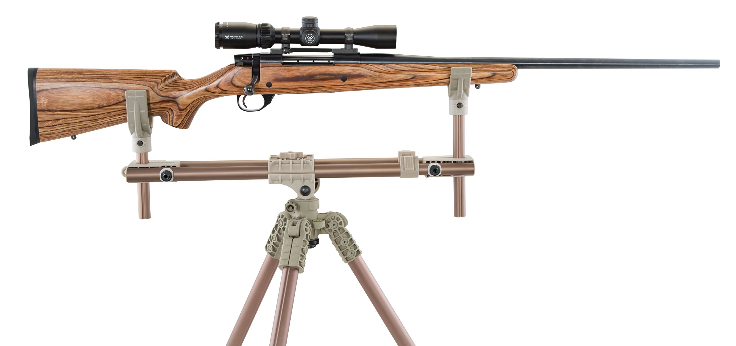 Caldwell DeadShot FieldPod Max Adjustable Ambidextrous Rifle Shooting Rest for Outdoor Range and Hunting by Caldwell (Image #4)