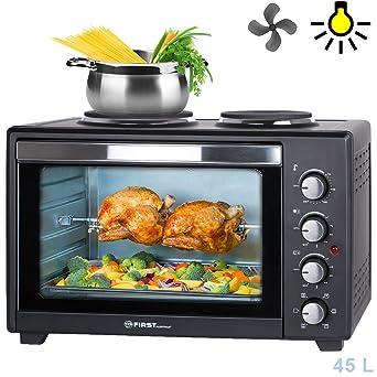 tzs first austria - 45 liter 3200 watt mini-backofen mit ... - Küche Backofen
