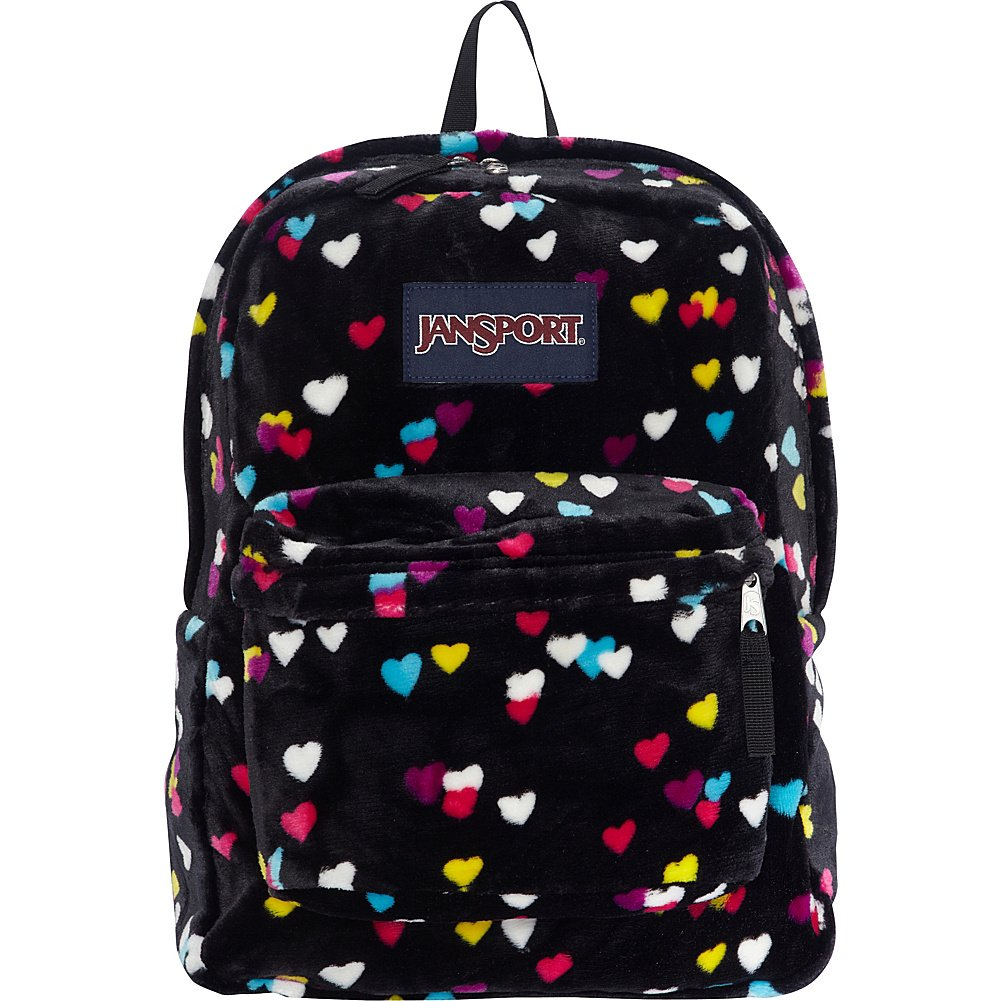 JanSport Superbreak Backpack- Sale Colors (Black First Love)